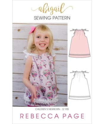 This childrens pillowcase top pattern will teach you how to sew a super quick and easy garment in sizes newborn to 12 years.