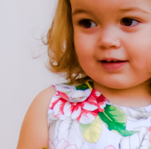 This reversible a-line dress sewing pattern will teach you how to make the perfect a-line dress in sizes newborn to 12 years!