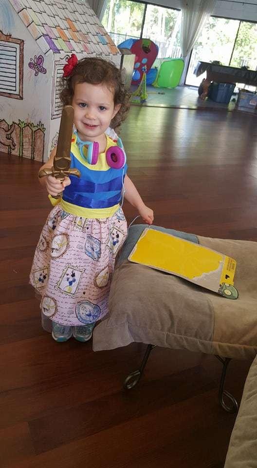 Pretty Party Dress by Meg Lane Grant