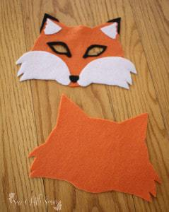 Felt Animal Masks Tutorial