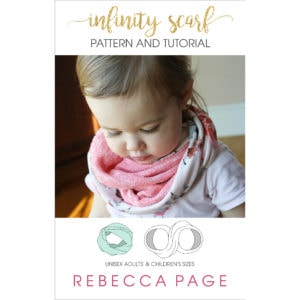 Whether you're about to head into the cooler months or the summer sun, at some point you will need a scarf; get it with this FREE infinity scarf tutorial.