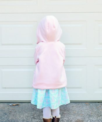 Fully lined all-weather childrens unisex coat pattern. You can use different fabrics for different weather, or even make a raincoat with waterproof fabric!