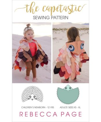 This great value bundle includes both the children's AND adul'st size Capetastic cape PDF Sewing Pattern and instructions! The whole family can dress up!