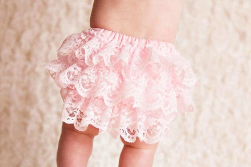 This PDF sewing pattern and instructions are for a lace ruffled diaper cover for your baby or toddler. Cute bloomers that are easy to sew.