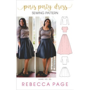 An absolutely fabulous ladies pleated skirt and semi-fitted top set with a whole bunch of options! The pattern is beginner-friendly and simply beautiful!