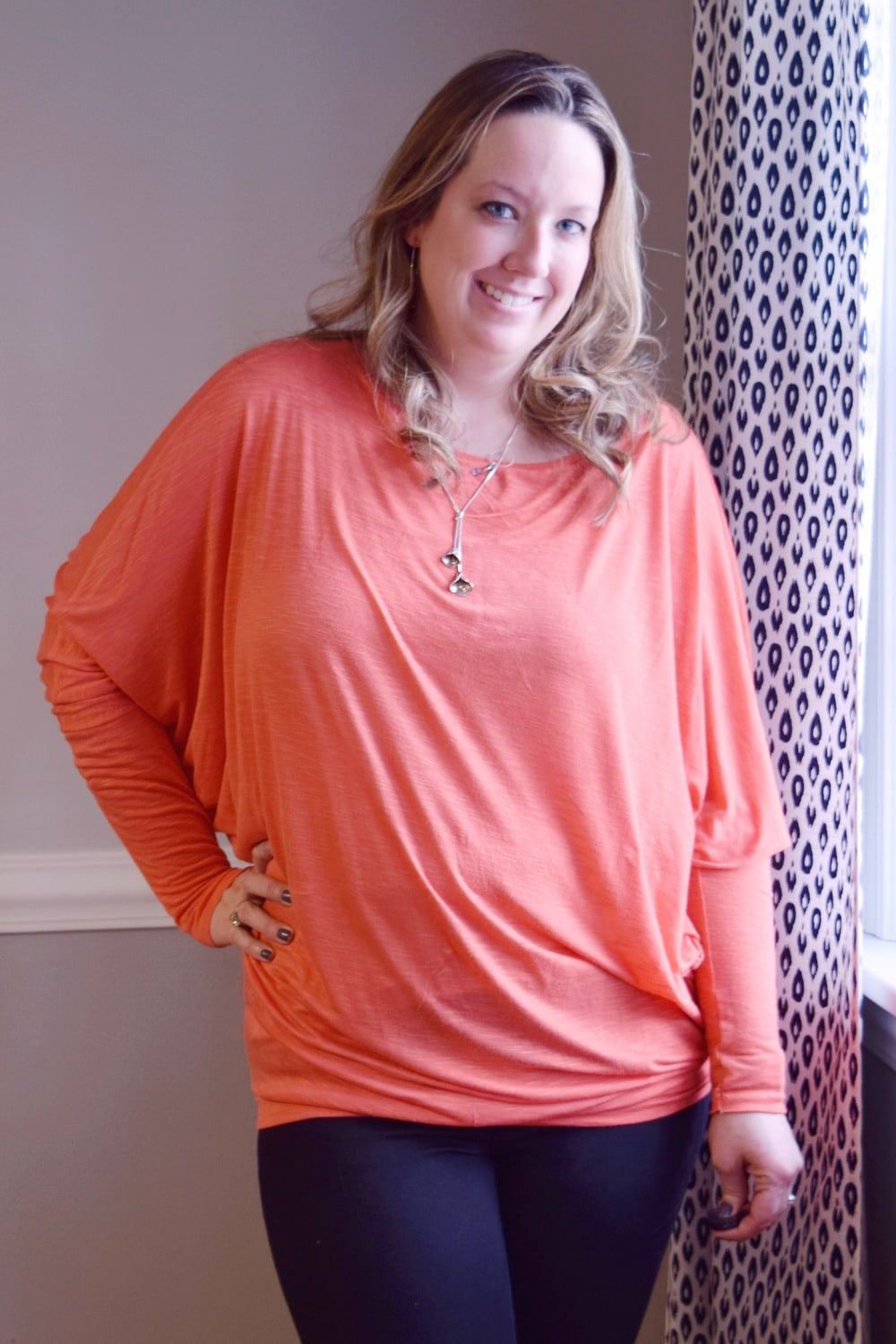 It's dreamy, it's drapey, and it's easy to sew... the Dreamy Drape Top is a ladies batwing top sewing pattern that's super comfy and totally on-trend.