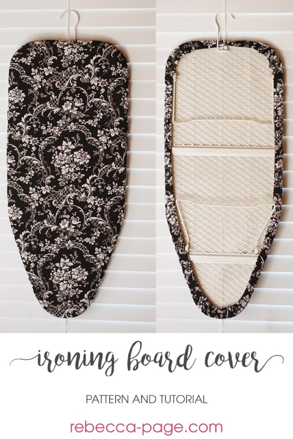 Full tutorial with step-by-step instructions on how to measure and fit your ironing board