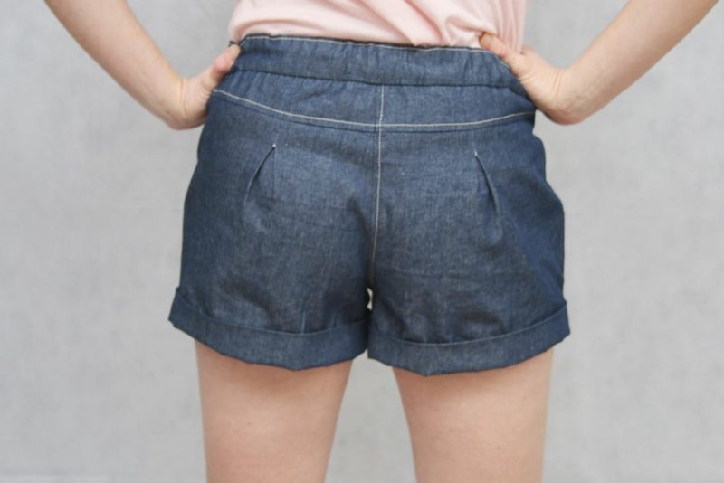 The Berry Bubble ladies shorts pattern are beautifully finished and fully lined without raw edges showing, giving them a truly boutique-quality finish.