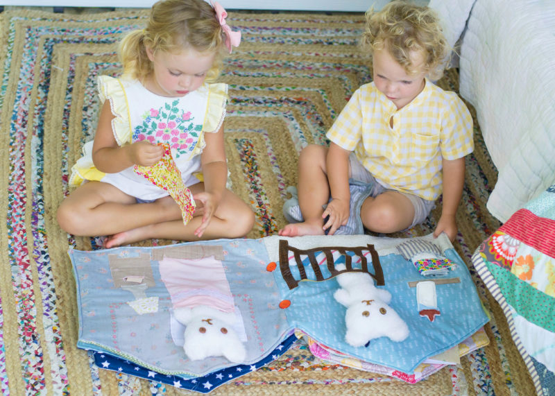 The Dolls House Quiet Book is quiet book pattern that is sure to inspire imaginative (not to mention, quiet) but fun play.