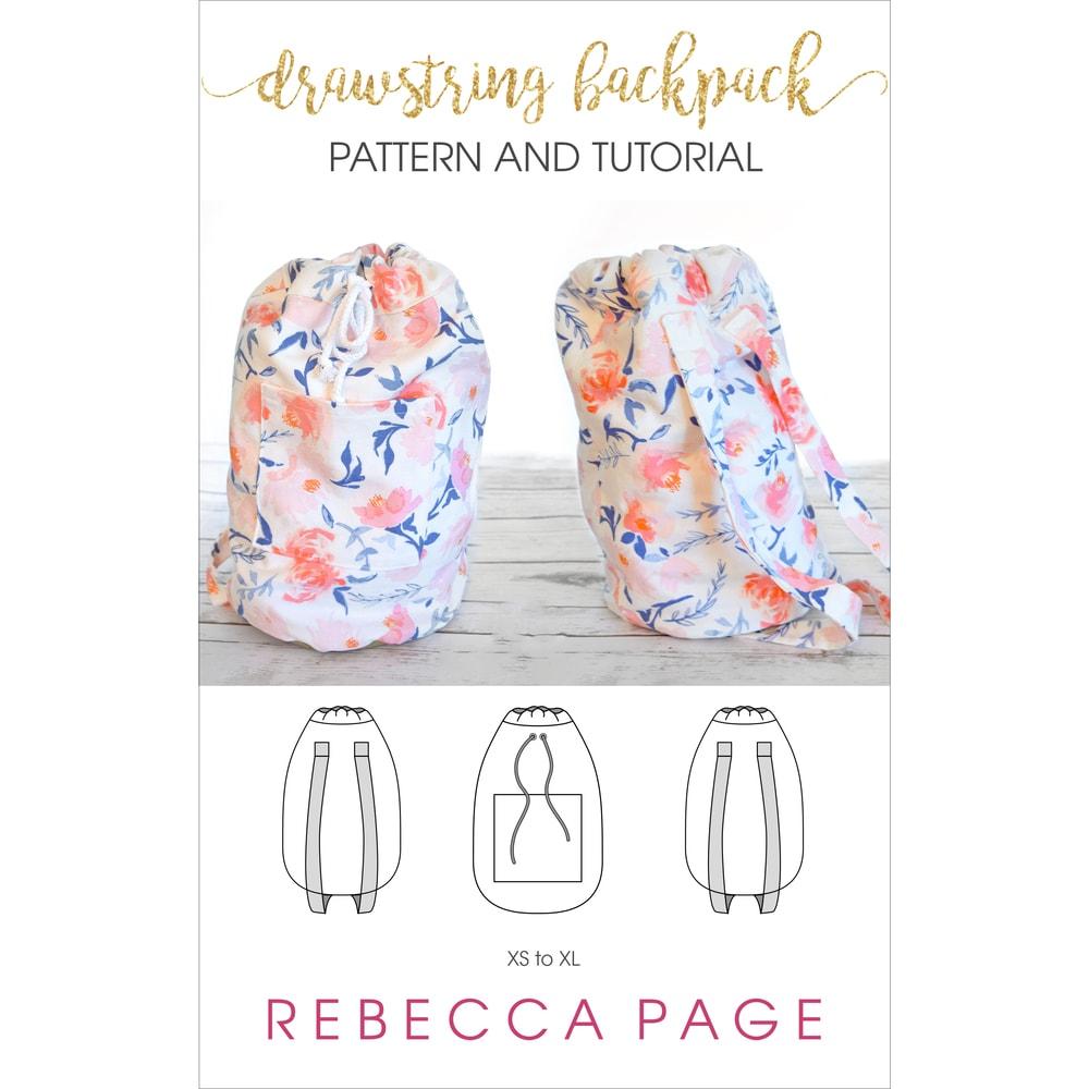 Backpack Pattern Drawstring Backpack Rebecca P Age