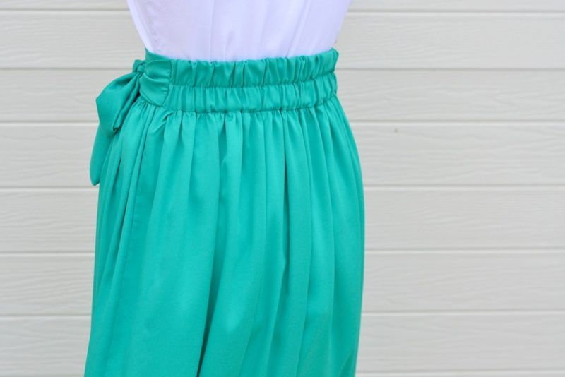 The Arabella is a gorgeous ladies' maxi skirt pattern. An easy and quick sew with lots of options, it's a perfect beginner skirt sewing pattern!