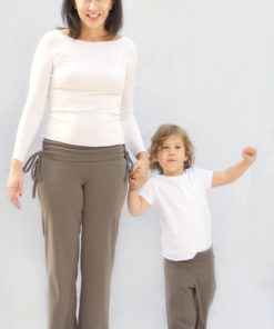 Super comfy and really fast to make, this yoga pants pattern comes in two lengths, two waistbands, and two width options, and in sizes 18-inch doll to 5XL.