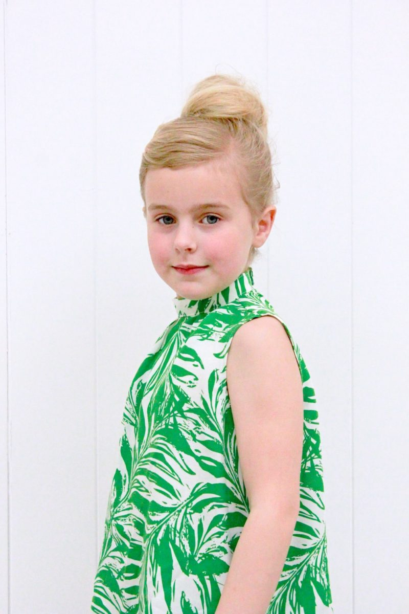 The Brielle Blouse is a loose-fitting childrens blouse pattern that is simply perfect for drapey fabrics. Classic and fashionable at the same time!