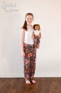 The Brielle Blouse is a loose-fitting dolls blouse pattern that is simply perfect for showing off drapey fabrics. Classic and fashionable at the same time!