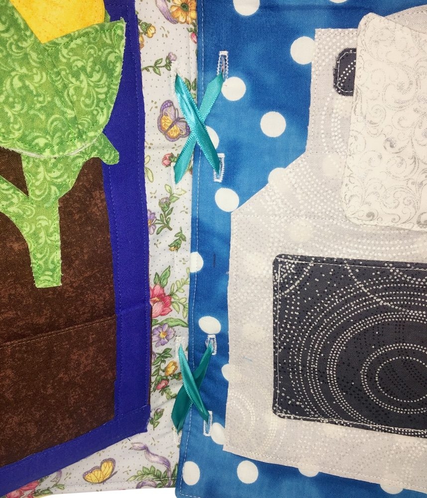Doll's House Quiet Book Sew Along