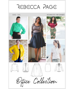 Professional, stylish, unique, and comfortable; everything that is the 2018 Office Collection of work wear sewing patterns.