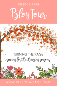 Sewing for the changing season blog tour