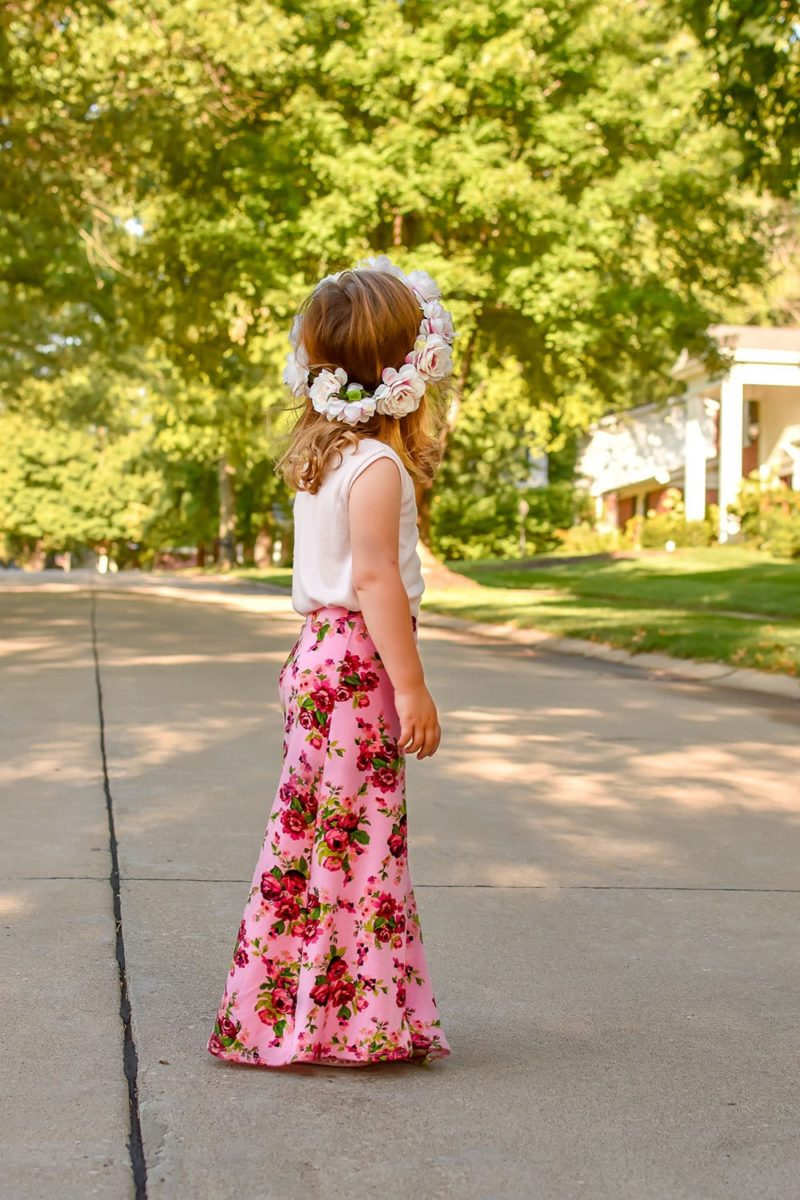 """What sews up quicker than you can say """"childrens jersey skirt sewing pattern""""? Not quite this Stevie skirt but it does come in at a very close second!"""