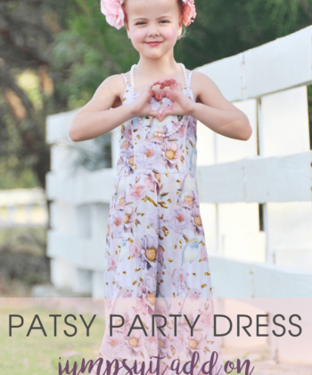 Patsy Party Dress Sewing Pattern