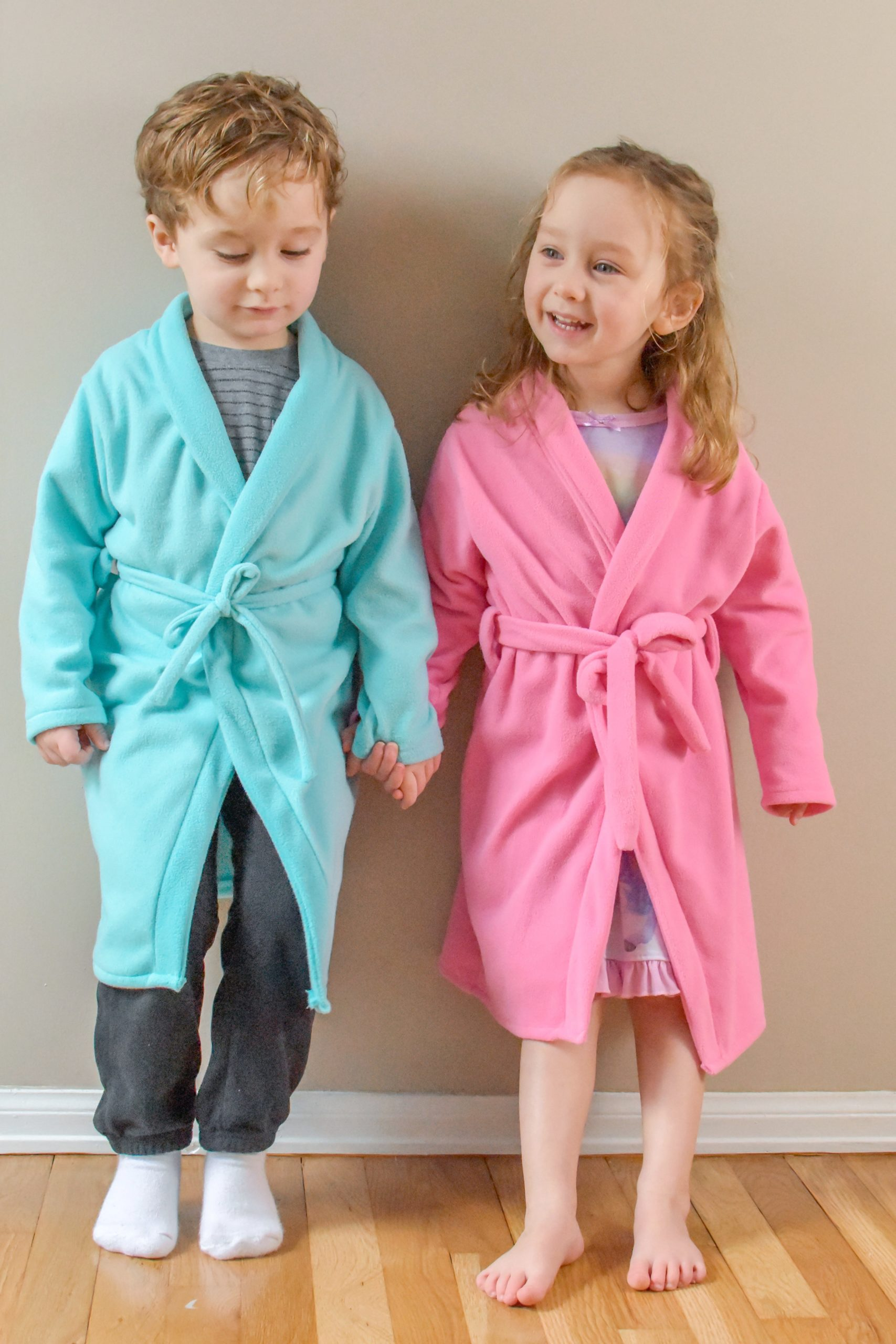 Childrens Bathrobe Sewing Pattern The Relaxation Robe Rebecca Page