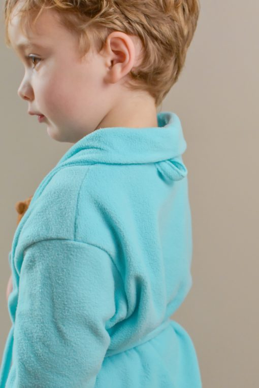 Sometimes, the most productive thing you can do is relax! This childrens bathrobe sewing pattern is exactly what you need for some chilled-out down time.
