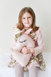 Roll me in fairy dust and call me a unicorn! This unicorn pillow sewing pattern is simply enchanting!