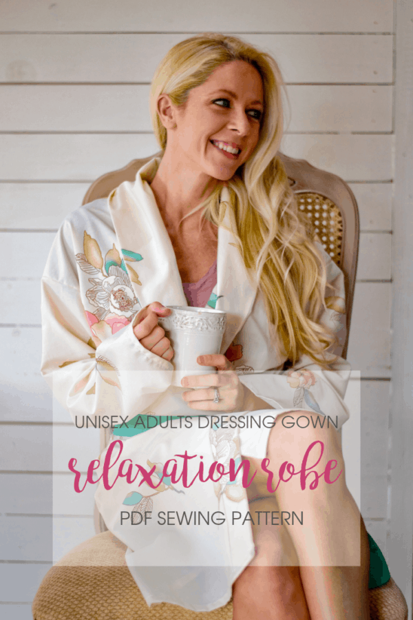 Sometimes, the most productive thing you can do is relax! And this family bathrobe sewing pattern is exactly what you need for family relaxing to the maxing.