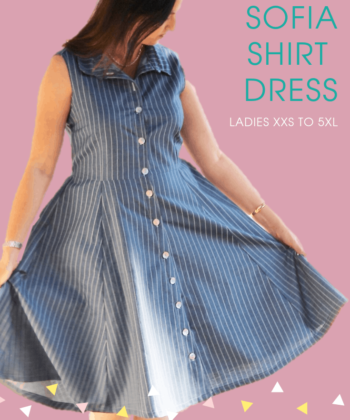 "The words ""simply beautiful"" and ""everyday elegance"" take shape in Sofia, the shirt dress sewing pattern. Add her to your pattern collection now!"