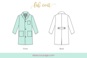 When a real-life forensic scientist gives this lab coat sewing pattern the thumbs up, you know you're adding serious epicness to the kidlets' dress up collection!