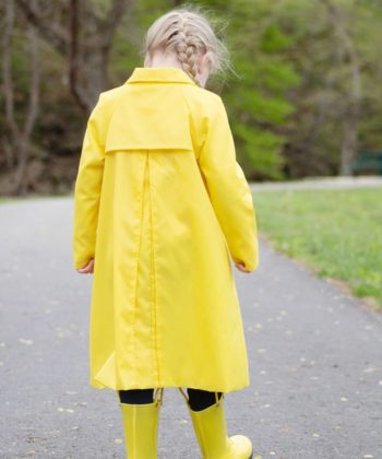 This unisex childrens anorak sewing pattern has me singing in the rain… and everywhere else! The Andie Anorak is so much more than just a rain coat!