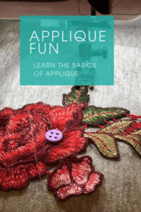 Applique is easy and fun! You can embellish any pattern with applique detailing; it adds a little something special to a garment. Learn how to applique!
