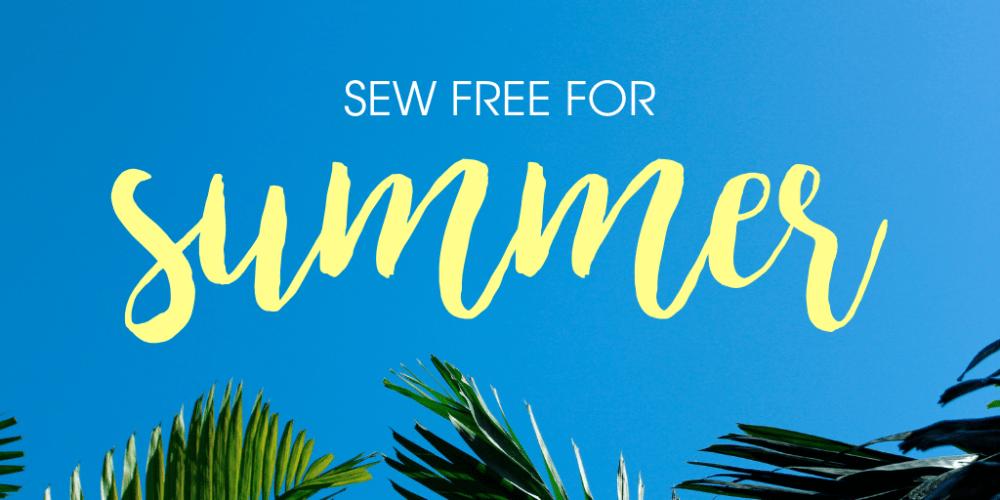 Free Sewing Patterns Blog Tour