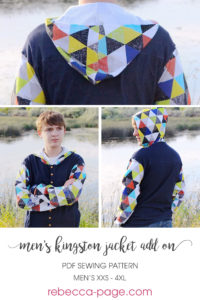 This is an ADD-ON selection of sewing pattern extras for the men's Kingston Jacket. There are so many gorgeous options with these mens denim jacket extras!