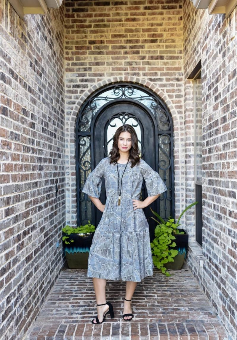 Inspired by flowy comfort, the Toronto Day Dress is a relaxed and easy to wear ladies boho dress sewing pattern in sizes XXS to 5XL.