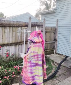 Quick and easy to sew unicorn cape pattern