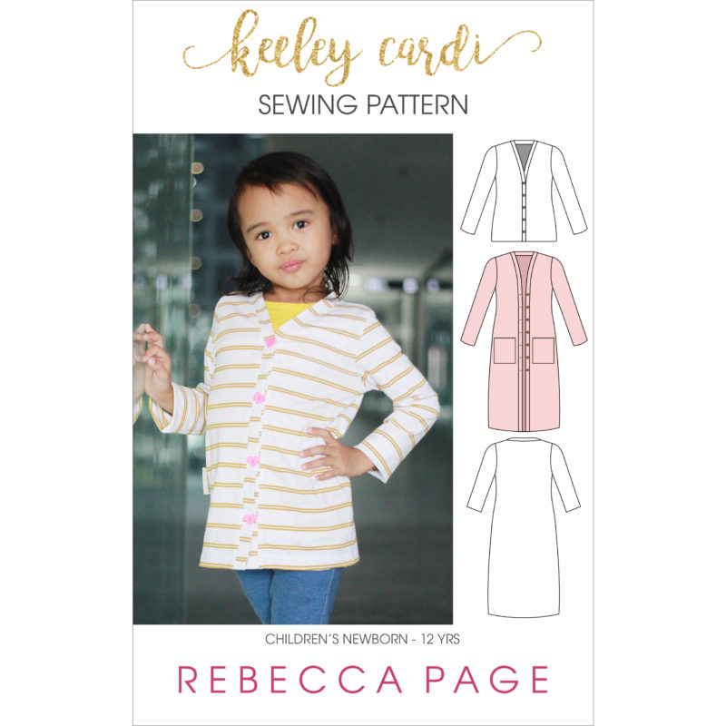 Children's Keeley Cardigan Sewing Pattern