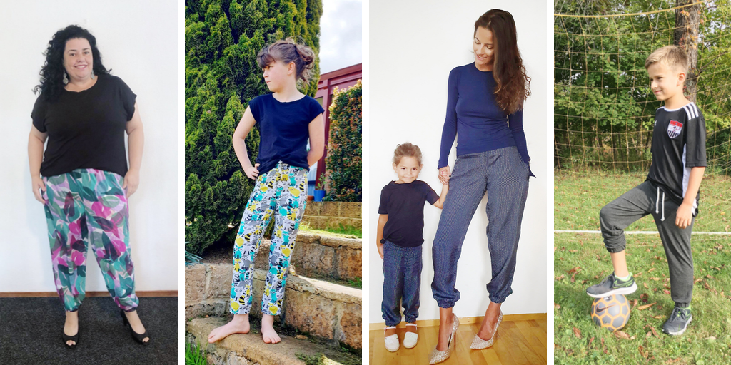 For sports luxe you can dress up or down, the Celine trousers sewing pattern bundle is your new go to. This beginner-level pattern is a quick rewarding sew.