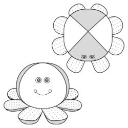 Octopus Toy Sewing Pattern