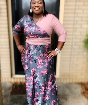 Comfy and flattering, the Carolina is the perfect crossover dress sewing pattern for every day and every occasion. A quick and easy sew with many options.