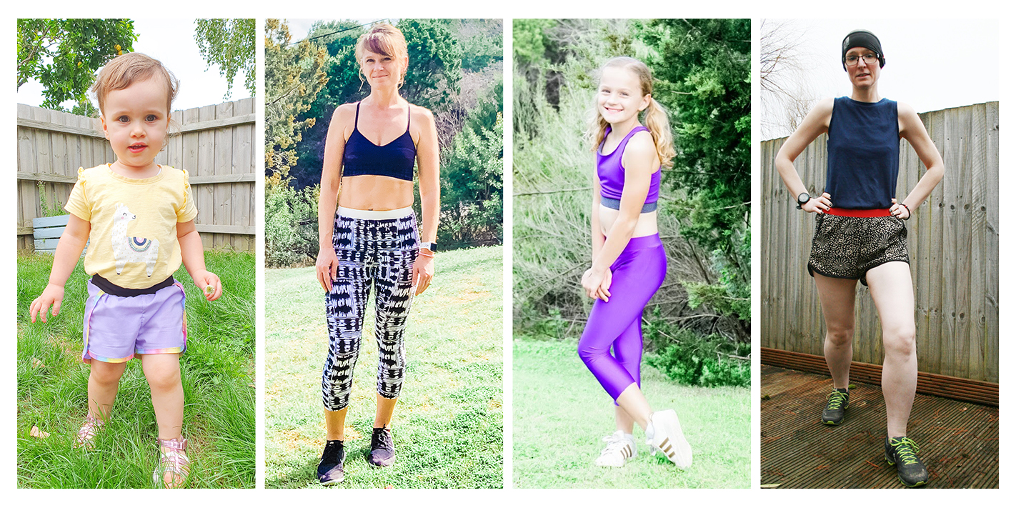 Get your workout wardrobe customised to perfection when you mix and match your sports leggings and shorts sewing patterns.