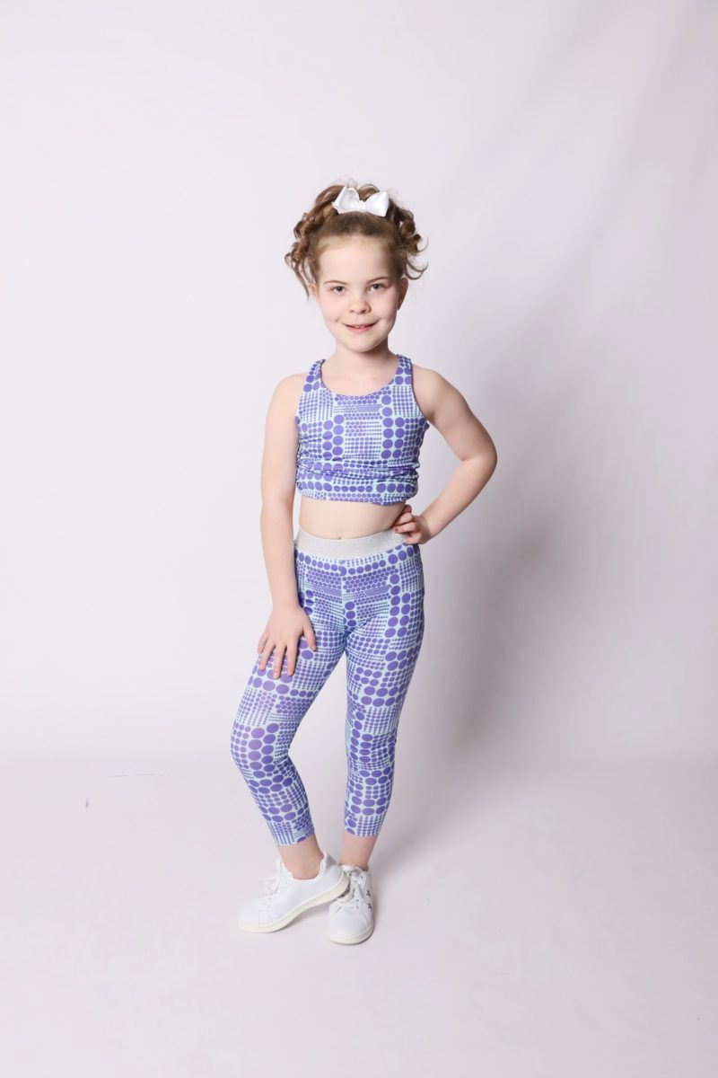 Get your workout wardrobe customised to perfection when you mix and match your childrens sports leggings and shorts sewing patterns.