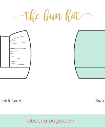 Rock that bun and stay toasty with a super-fast bun hat and top knot(ch) winter style for keeping your ears warm and your hair on point!