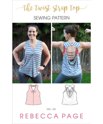 Whip up a cute top in less than an hour with this quick and easy ladies loose top sewing pattern! Comes in sizes XXS to 5XL.