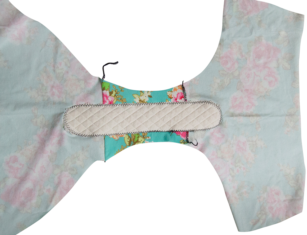 Mash the Basic Underwear and Cloth pads patterns to make period panties that are easy to customize just for your body. It really can't be any better!