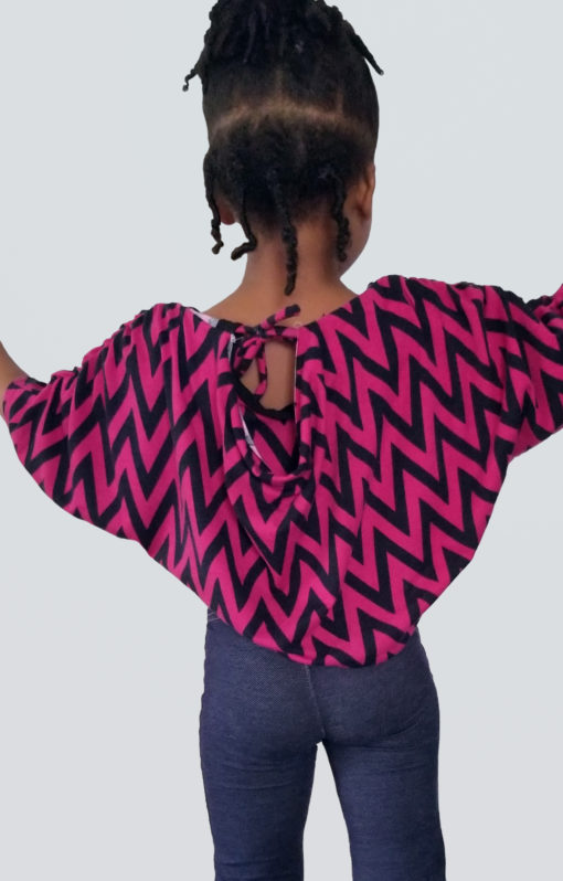 A simple drapey sew with the wow factor. This childrens draped top sewing pattern is comfy and stylish, and comes in sizes 12 months to 12 years