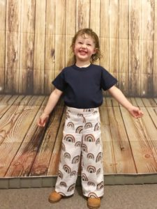 From summer to winter, these beautiful shorts and trousers are just a few seams away with this childrens vintage style pattern.