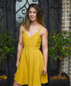Introducing your new favorite sundress sewing pattern; a summery sew with a beautiful open back design in sizes XXS to 5XL.