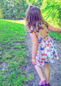 Introducing your new favorite sundress sewing pattern; a summery sew with a beautiful open back design in sizes 12 months to 12 years.