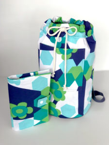 This back to school sewing pattern bundle is so fast and easy. You get a cute backpack and a pencil case pattern! Great way to use scraps and so many uses!