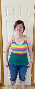 Super charge your Bralette Tank. This easy-to-sew sporty comfort with nine strap options gives you a sports crop sewing pattern in sizes XXS to 5XL and children's 12 months to 12 years.